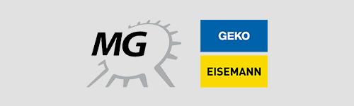 Logoarrangement MG Geko Eisemann