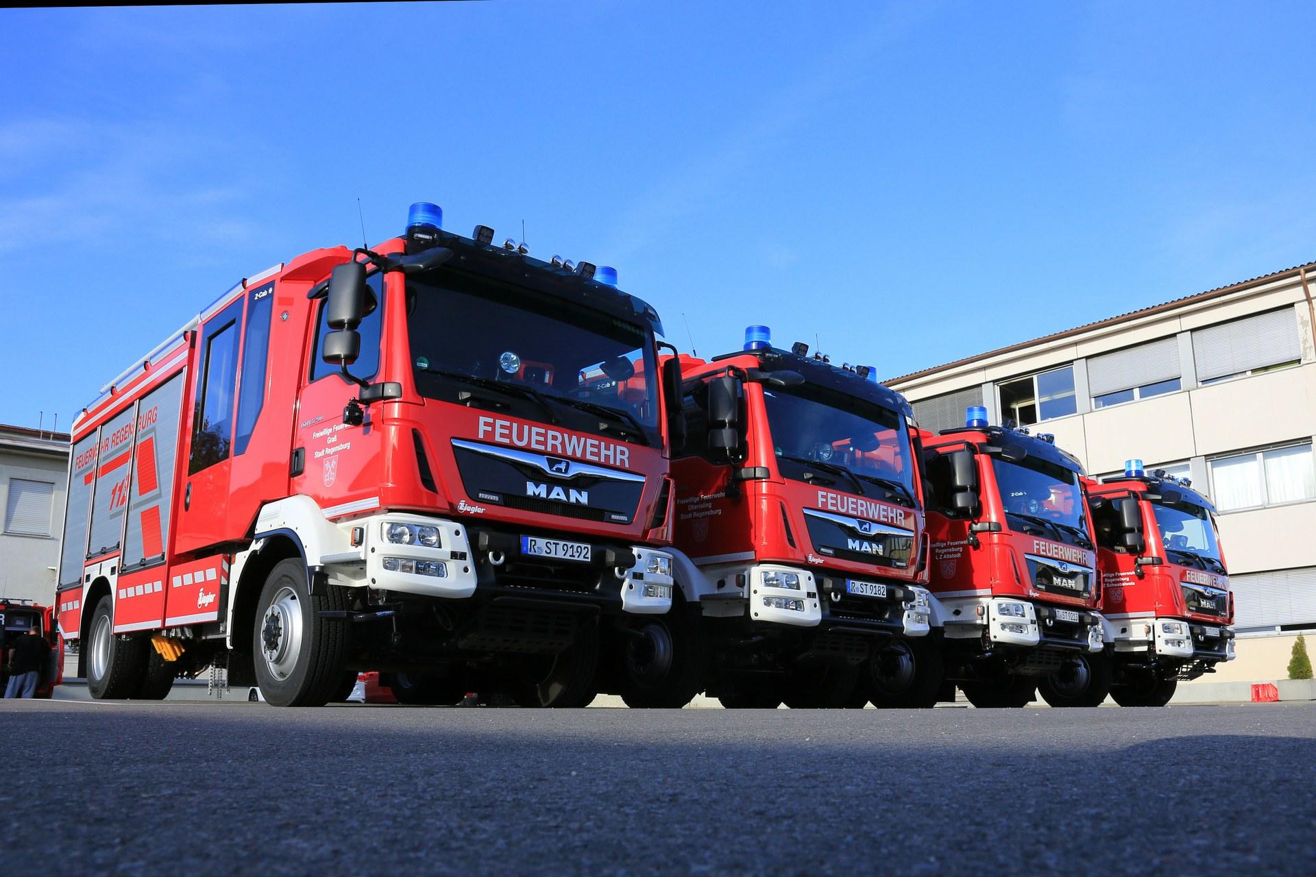 Regensburg Feuerwehr